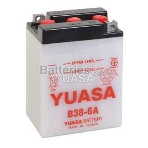 Batterie Yuasa B38-6A