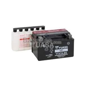 Batterie Yuasa YTX7A-BS / GTX7A-BS