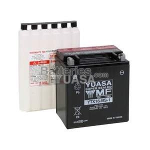 Batterie Yuasa YTX16-BS-1 / GTX16-BS-1