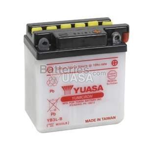 Batterie Yuasa YB3L-B