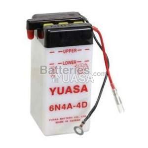 Batterie Yuasa 6N4A-4D