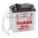 Batterie Yuasa 6N6-3B
