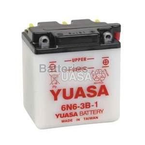 Batterie Yuasa 6N6-3B-1