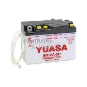 Batterie Yuasa 6N12A-2D